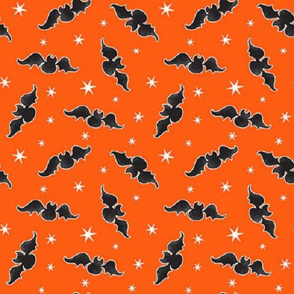 Here We Glow 9537G-39 Orange Tossed Bats by Delphine Cubitt
