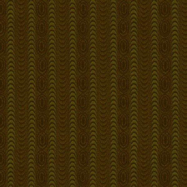Farmhouse Christmas 9672-66 Green Moire Stripe by Kim Diehl for Henry Glass