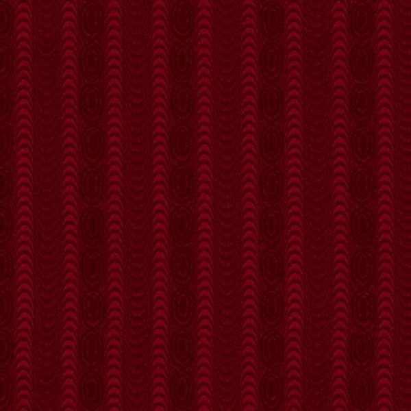 Farmhouse Christmas 9672-88 Red Moire Stripe by Kim Diehl for Henry Glass