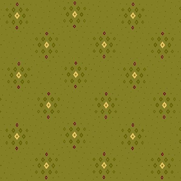 Farmhouse Christmas 9677-66 Tonal Diamond Clusters by Kim Diehl for Henry Glass