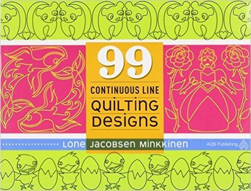 99 Continuous Line Quilting Designs Book
