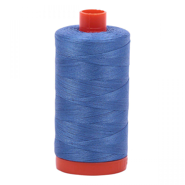 Aurifil Mako Cotton Thread 50 wt 1422 yds 1128 Light Blue Violet