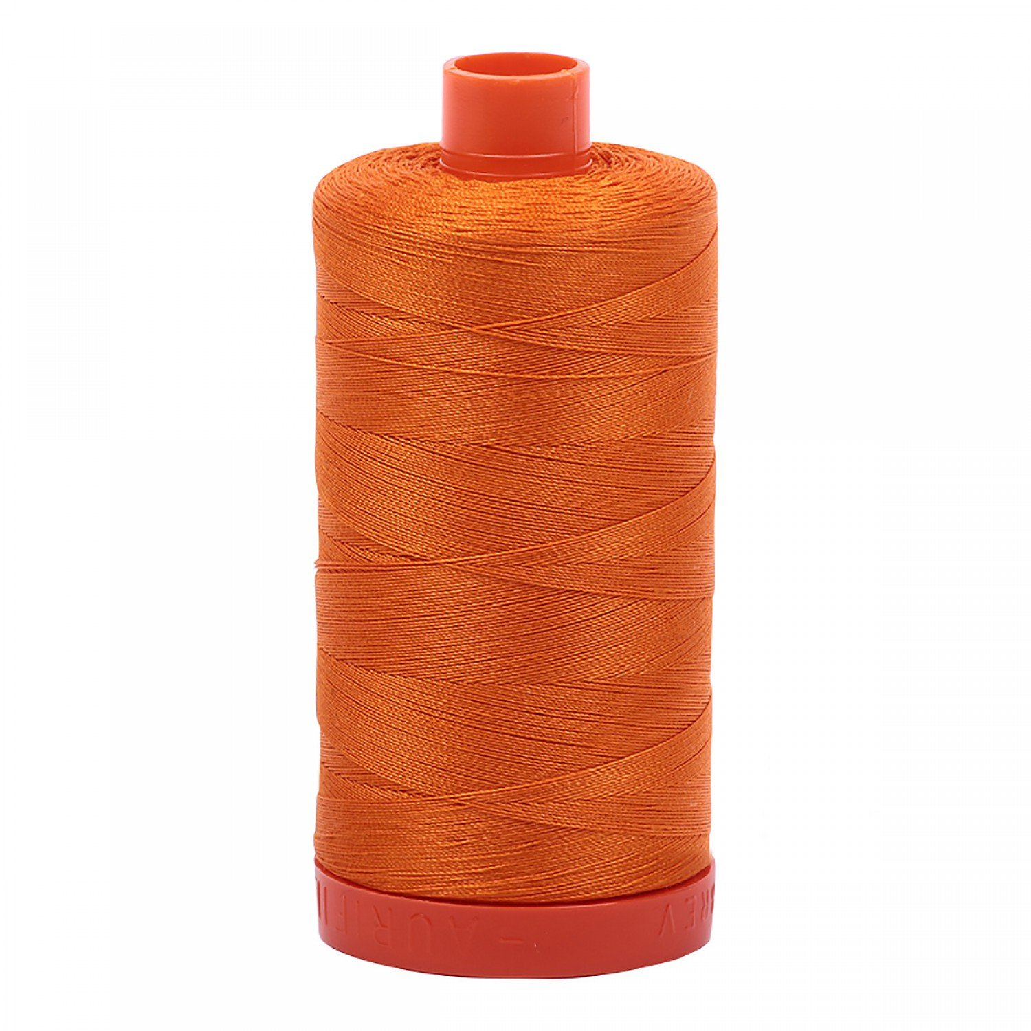 Aurifil Mako Cotton Thread 50 wt 1422 yds 1133 Bright Orange