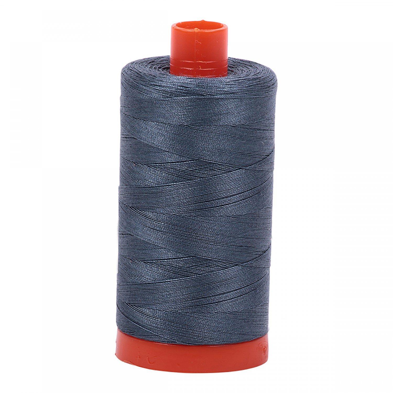 Aurifil Mako Cotton Thread 50 wt 1422 yds 1158 Medium Grey