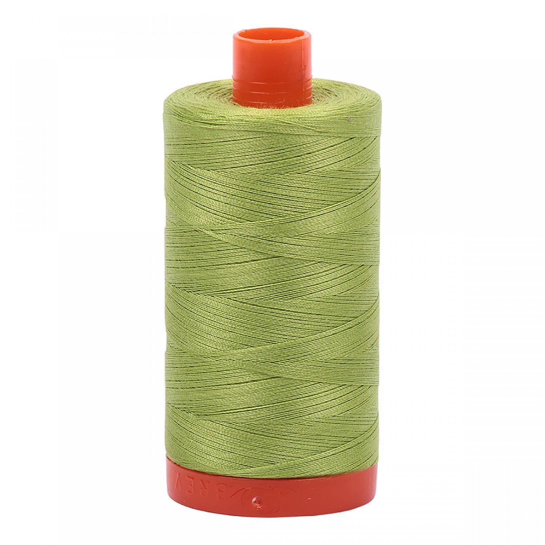 Aurifil Mako Cotton Thread 50 wt 1422 yds 1231 Spring Green