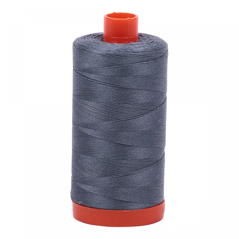 Aurifil Mako Cotton Thread 50 wt 1422 yds 1246 Dark Gray
