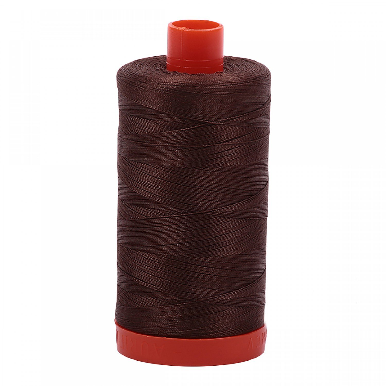 Aurifil Mako Cotton Thread 50 wt 1422 yds 1285 Medium Bark