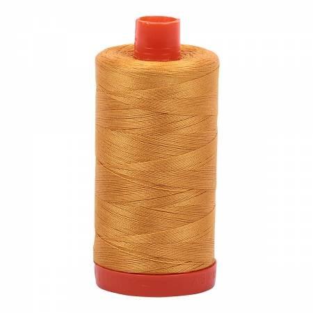 Aurifil Mako Cotton Thread 50 wt 1422 yds 2140 Mustard