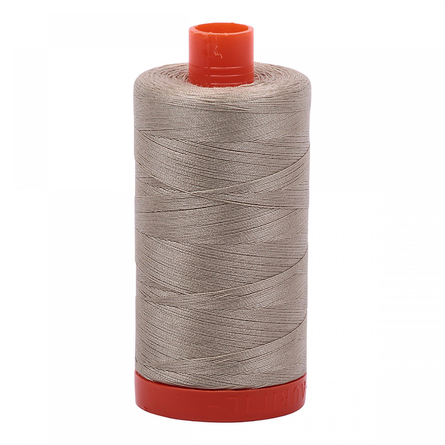 Aurifil Mako Cotton Thread 50 wt 1422 yds 2324 Stone