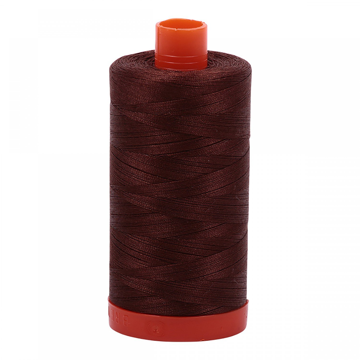 Aurifil Mako Cotton Thread 12 wt 356 yds 2360 Chocolate