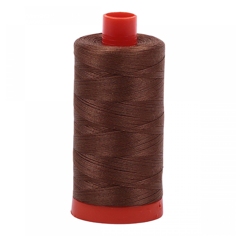 Aurifil Mako Cotton Thread 50 wt 1422 yds 2372 Dark Antique Gold
