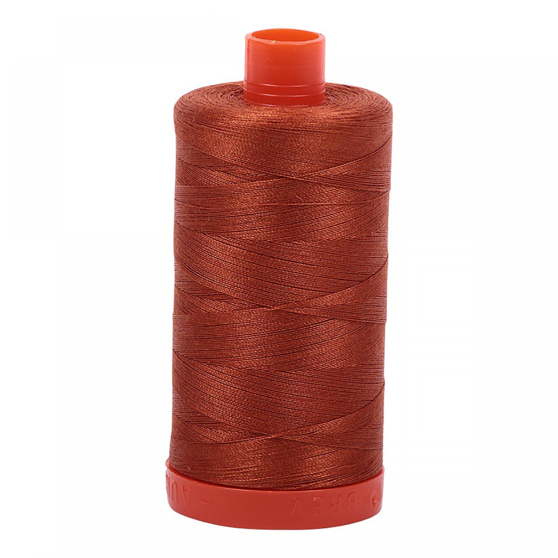 Aurifil Mako Cotton Thread 50 wt 1422 yds 2390 Cinnamon Toast