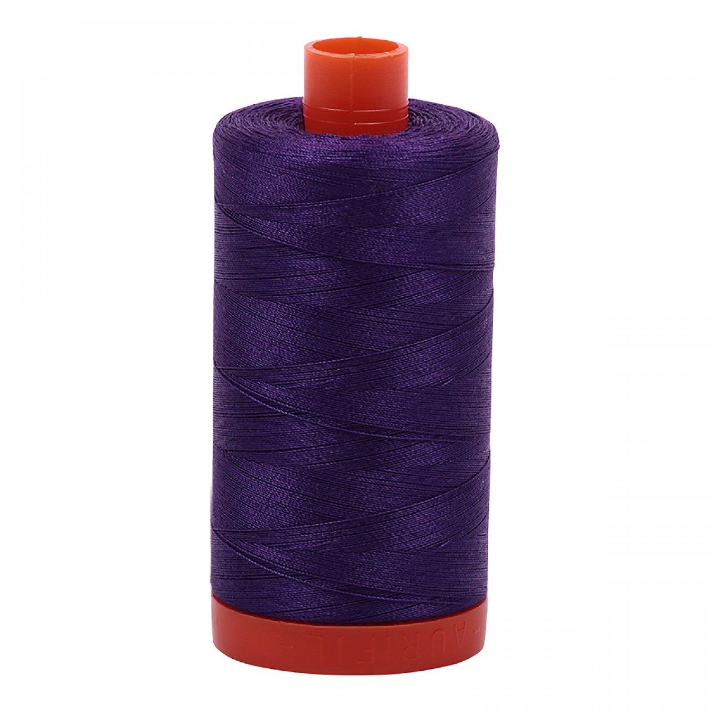 Aurifil Mako Cotton Thread 50 wt 1422 yds 2545 Medium Purple