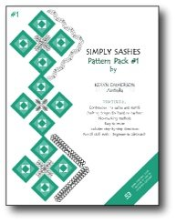 Golden Threads Pattern Pack #1 Simply Sashes by Keryn Emmerson