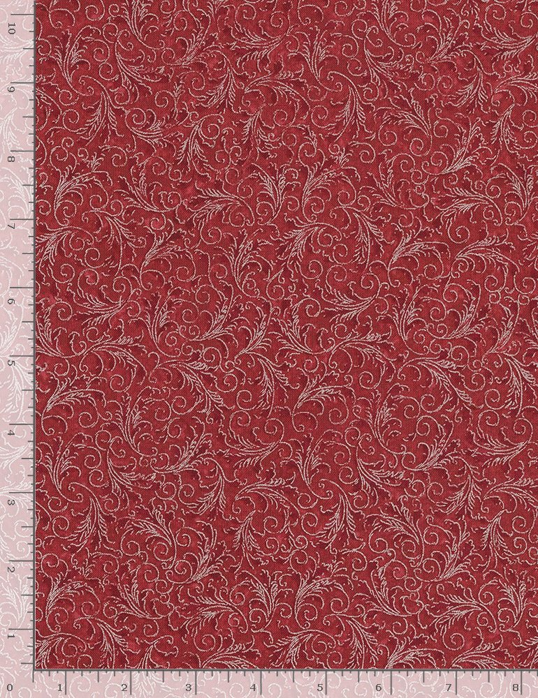 Echo Noel CM5500 Cranberry from Timeless Treasures