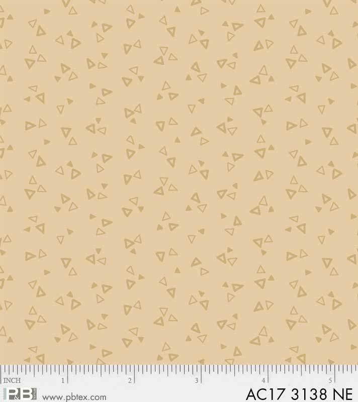 Apple Cider 17 AC17 3138-NE Triangles P & B Textiles