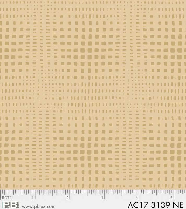 Apple Cider 17 AC17 3139-NE Grid P & B Textiles
