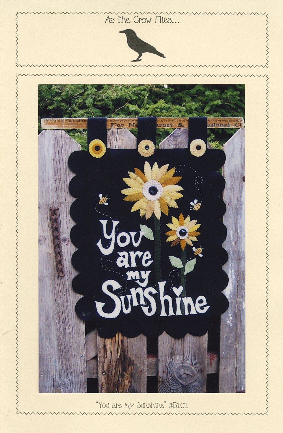 You are my Sunshine Pattern by As the Crow Flies