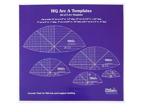 HQ Arc A Templates Set of 5