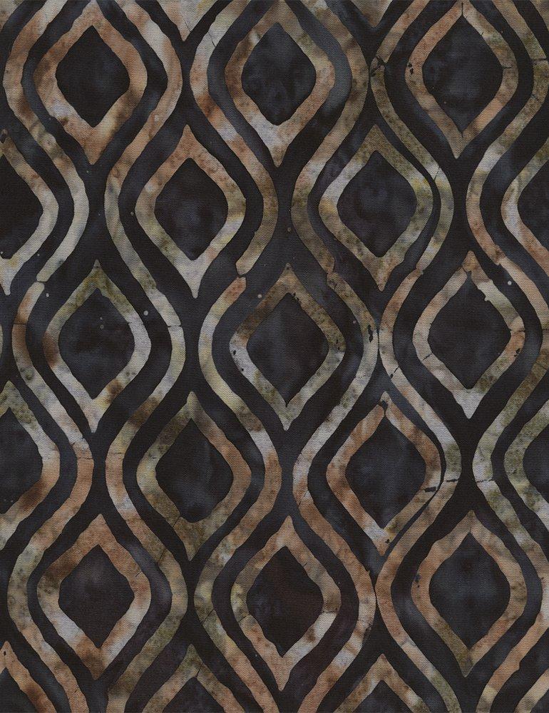 Batik Tonga B4175 Spruce Timeless Treasures