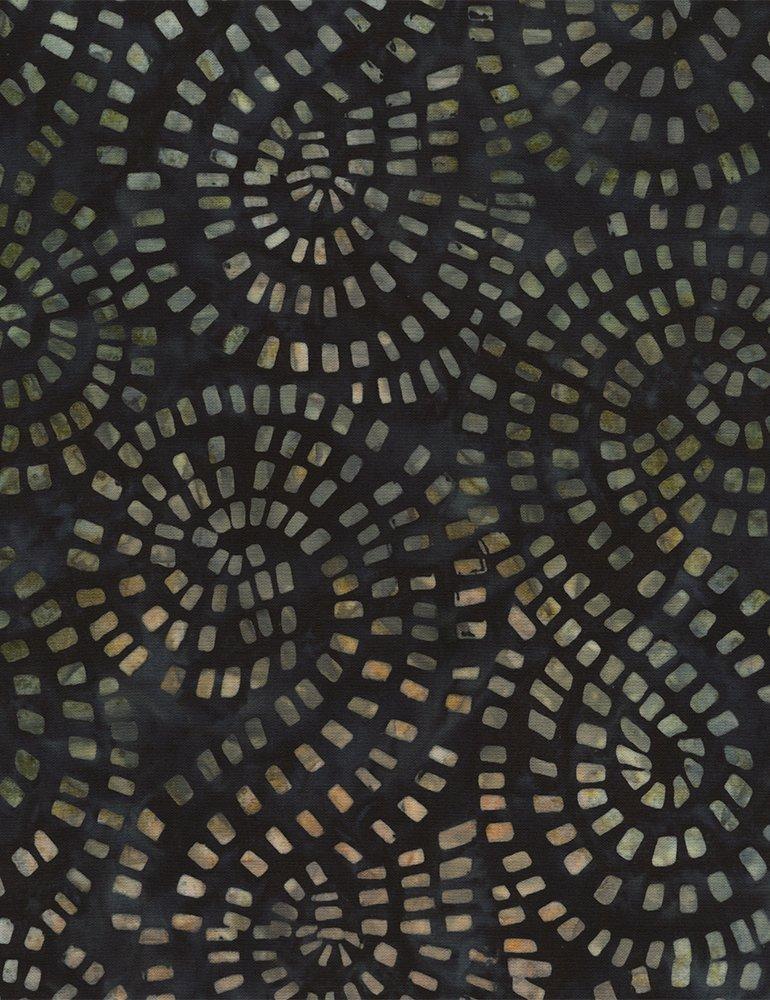 Batik Tonga B4178 Malachite Timeless Treasures