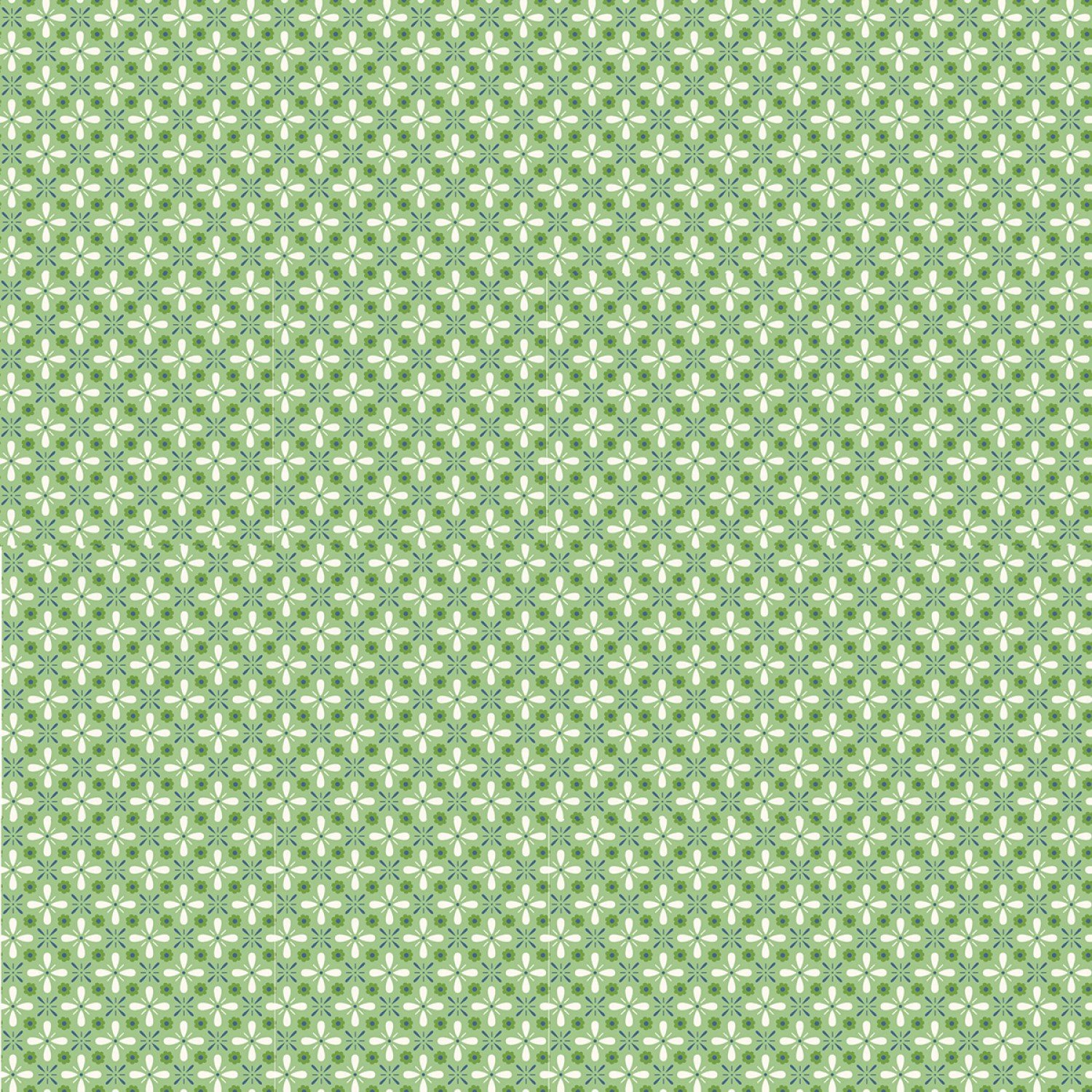 Farm Girl Vintage C7879 Green by Lori Holt for Riley Blake Designs
