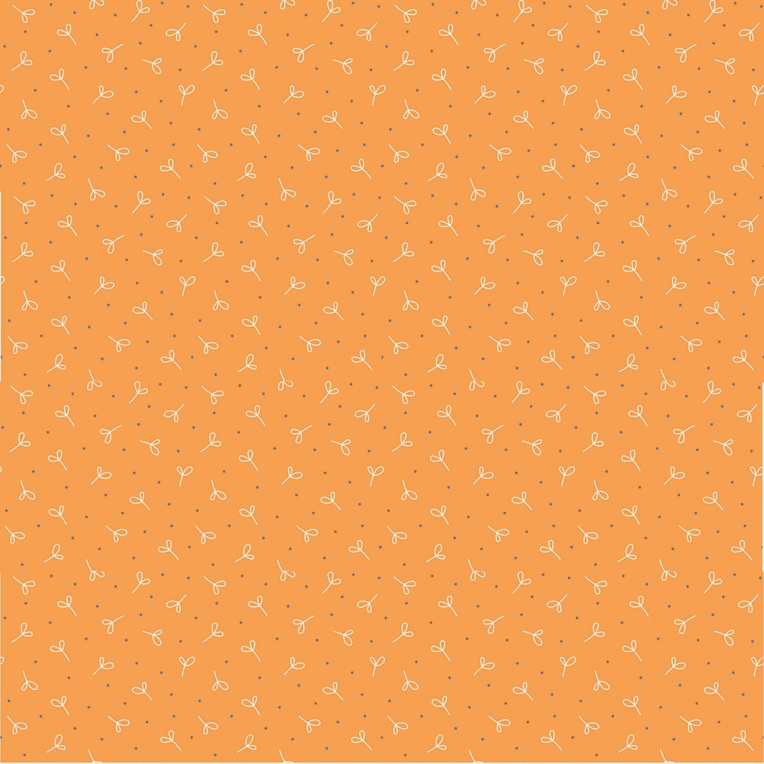 Farm Girl Vintage C7880 Orange by Lori Holt for Riley Blake Designs