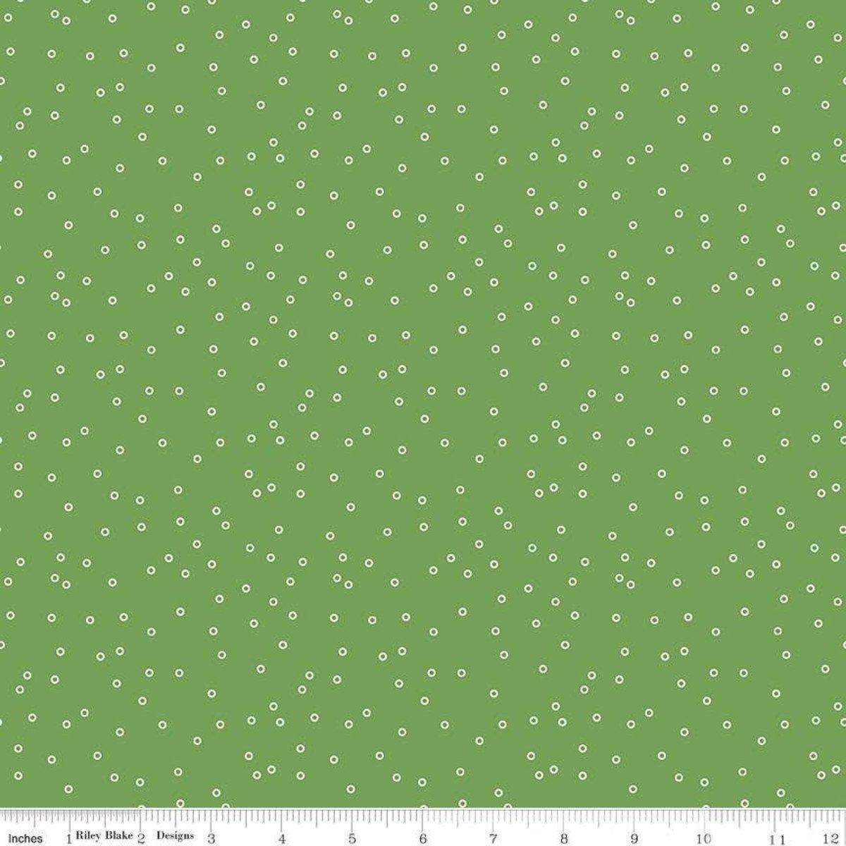 Prim C9693 Circles Clover by Lori Holt for Riley Blake Designs