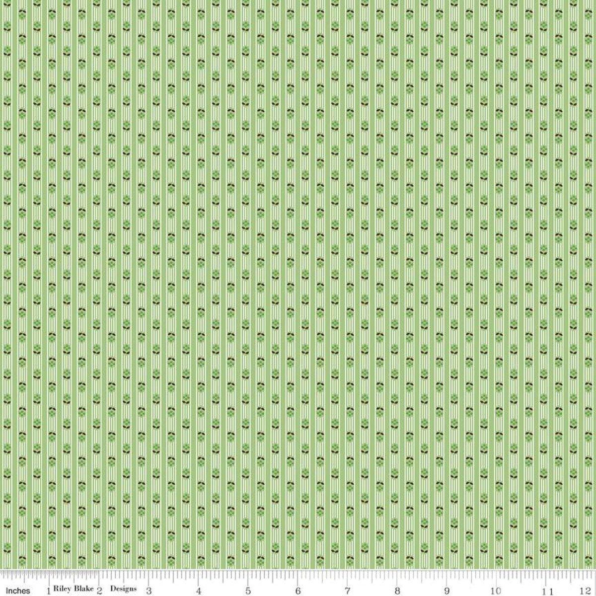 Prim C9705 Stripe Granny Apple by Lori Holt for Riley Blake Designs
