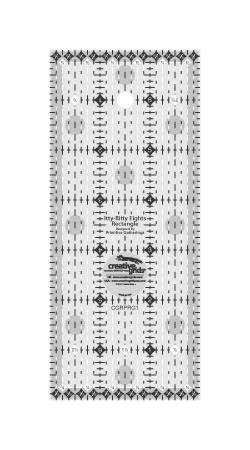 Creative Grids Itty-Bitty Eights 3 x 7 Ruler