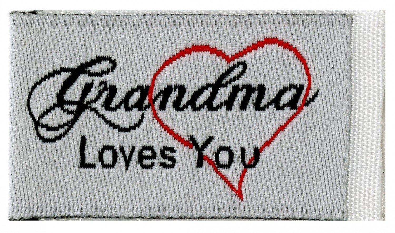 Tag It Labels Grandma Loves You