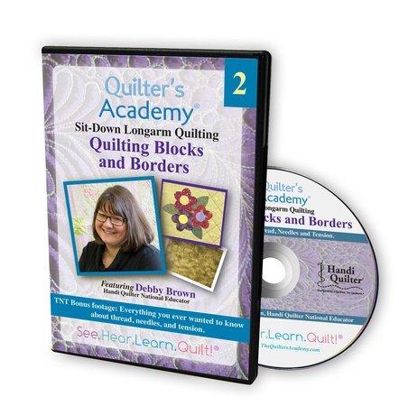 Debby Brown #2 Quilting Blocks & Borders DVD