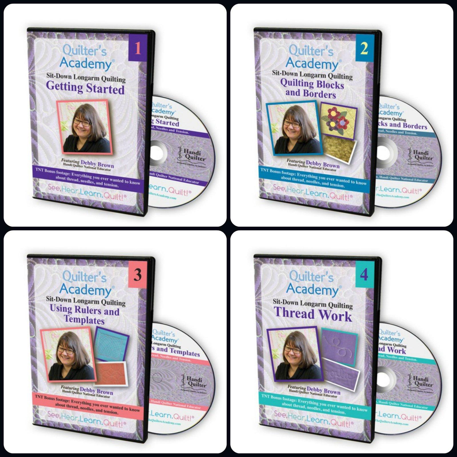 Set of 4 Debby Brown DVD Series