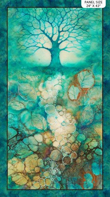Tree of Wisdom Panel DP23311-68 by Kerry Darlington for Northcott