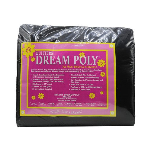 Batting - Queen Poly Select Black Quilter's Dream