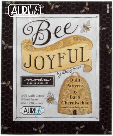 Bee Joyful Aurifil Boxed Set 50 wt by Deb Strain