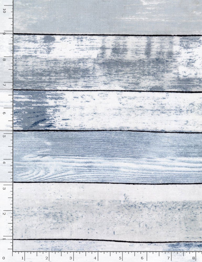 Cotton Joy HOME-C7178 Blue Weathered Wood from Timeless Treasures