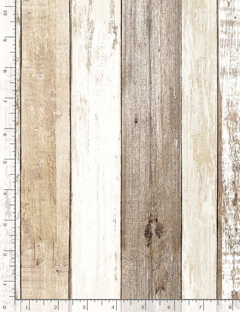 Cotton Joy HOME-C7178 Multi Weathered Wood from Timeless Treasures