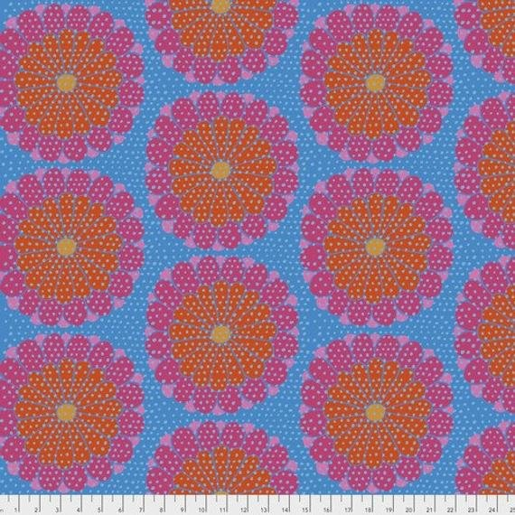 Kaffe Fassett Artisan PWKF008.REDXX Kyoto from Free Spirit Fabrics