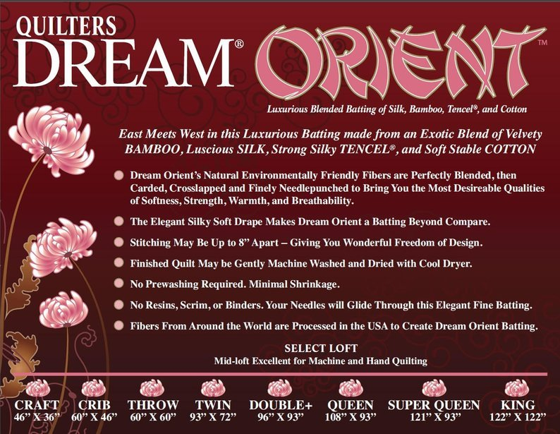 Batting - Double Orient Quilter's Dream