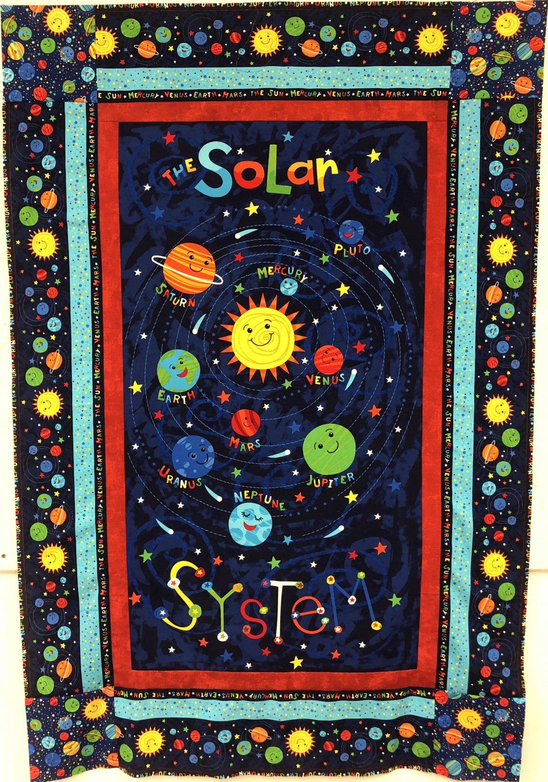 Spinning Solar System Wall Hanging Kit