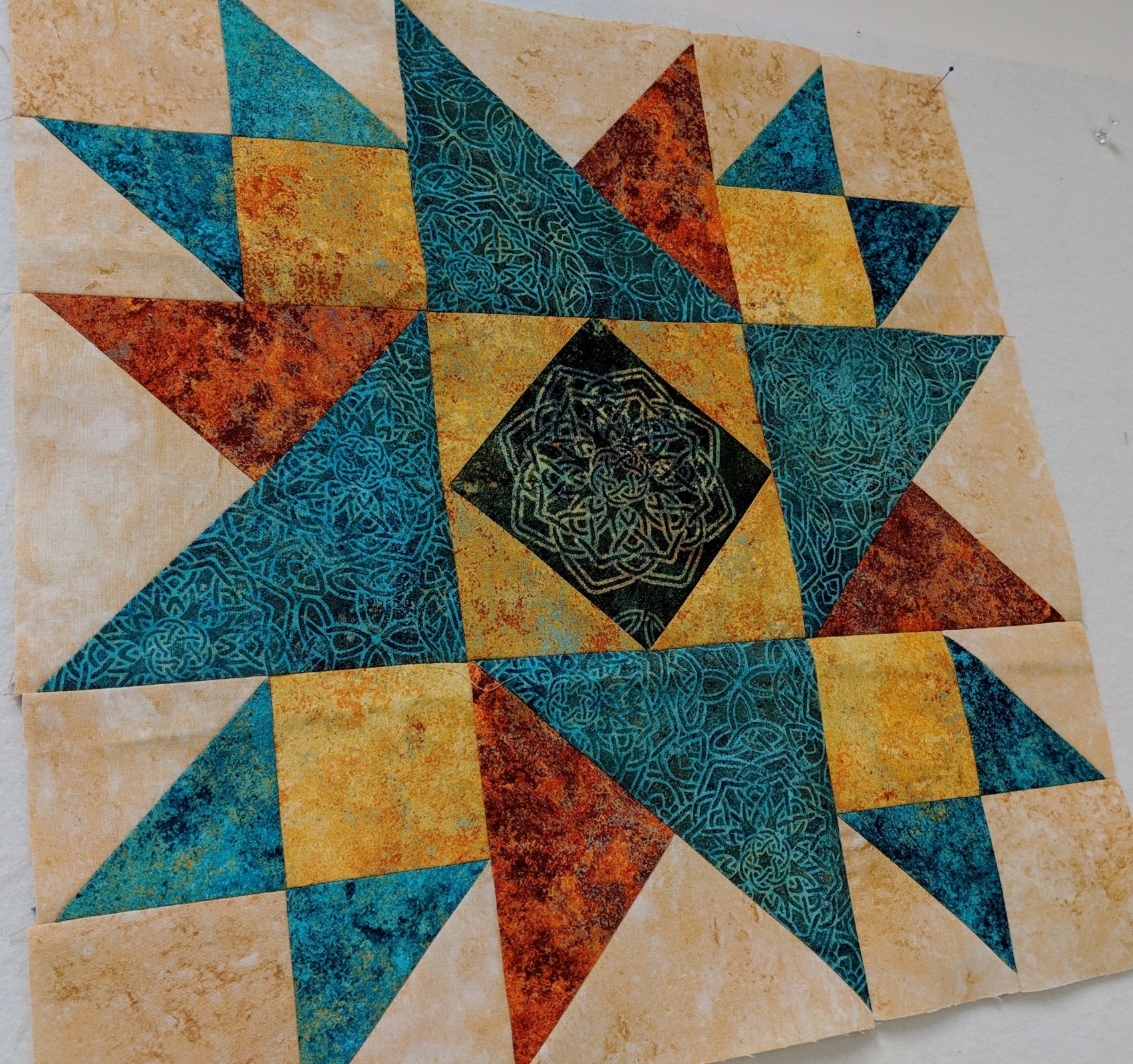 SWD Standing Star Stonehenge Solstice Block Kit for the 2019 Stonehenge Block Party from Northcott