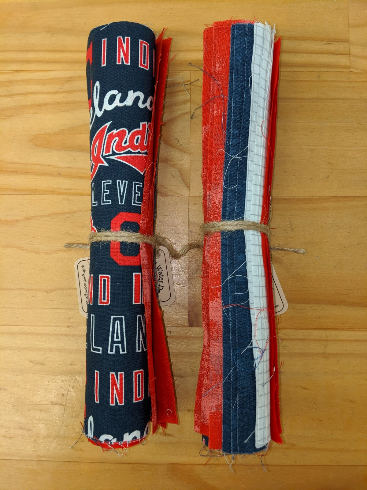 Cleveland Indians Themed Roll of 10 Inch Squares