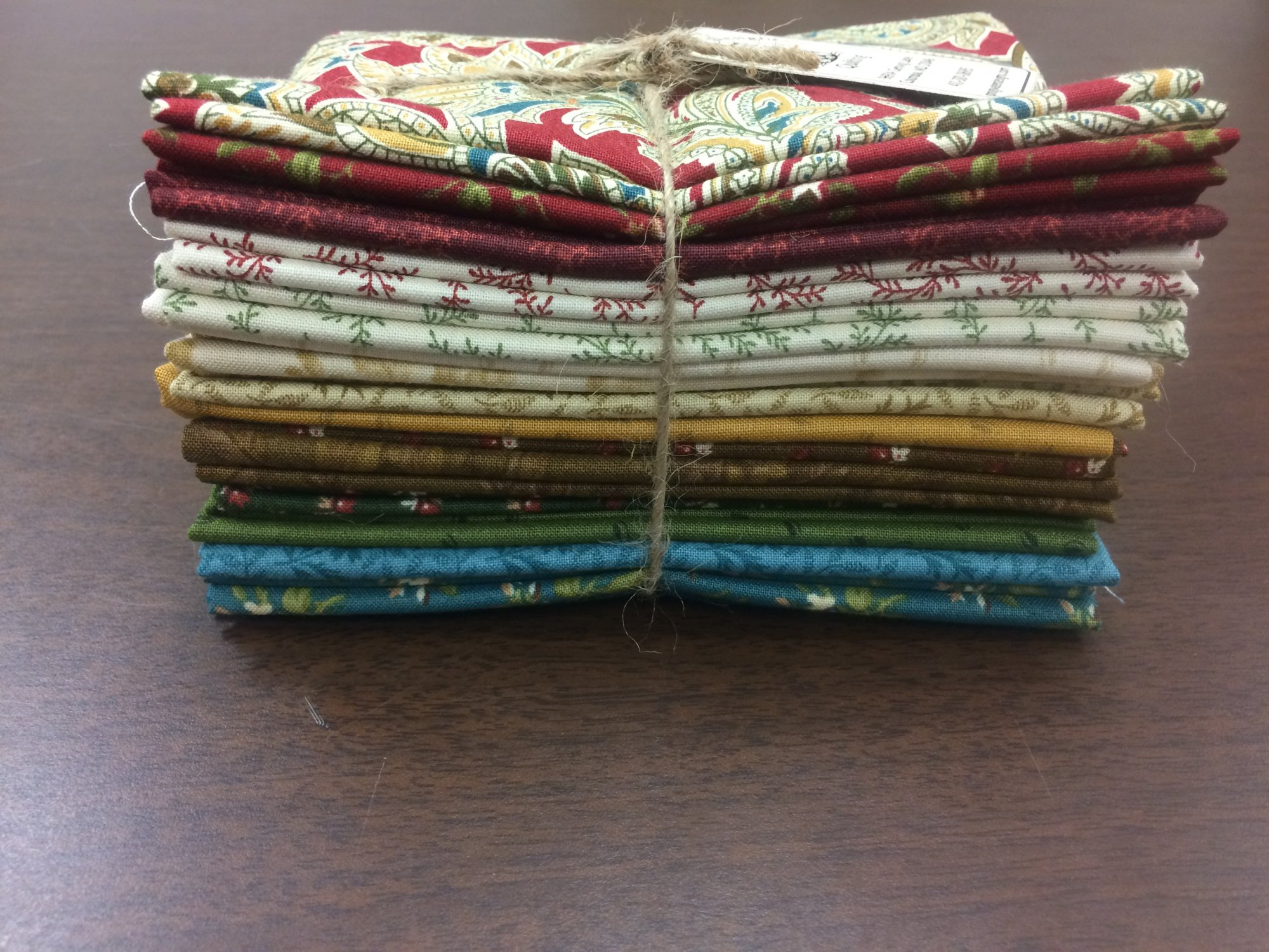 The Golden Age Fat Quarter Bundle - 15 Fat Quarters