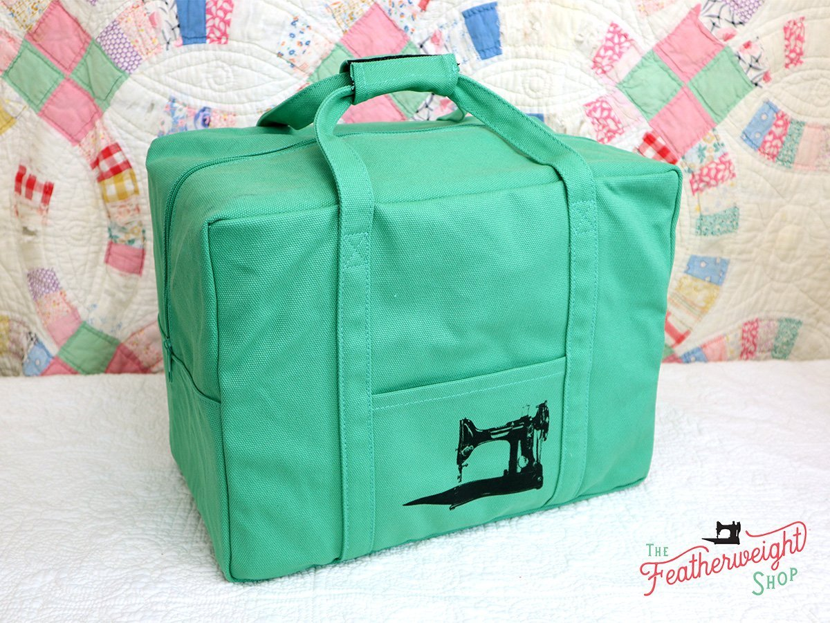 Tote for Featherweight Case or Tools & Accessories Jade Green