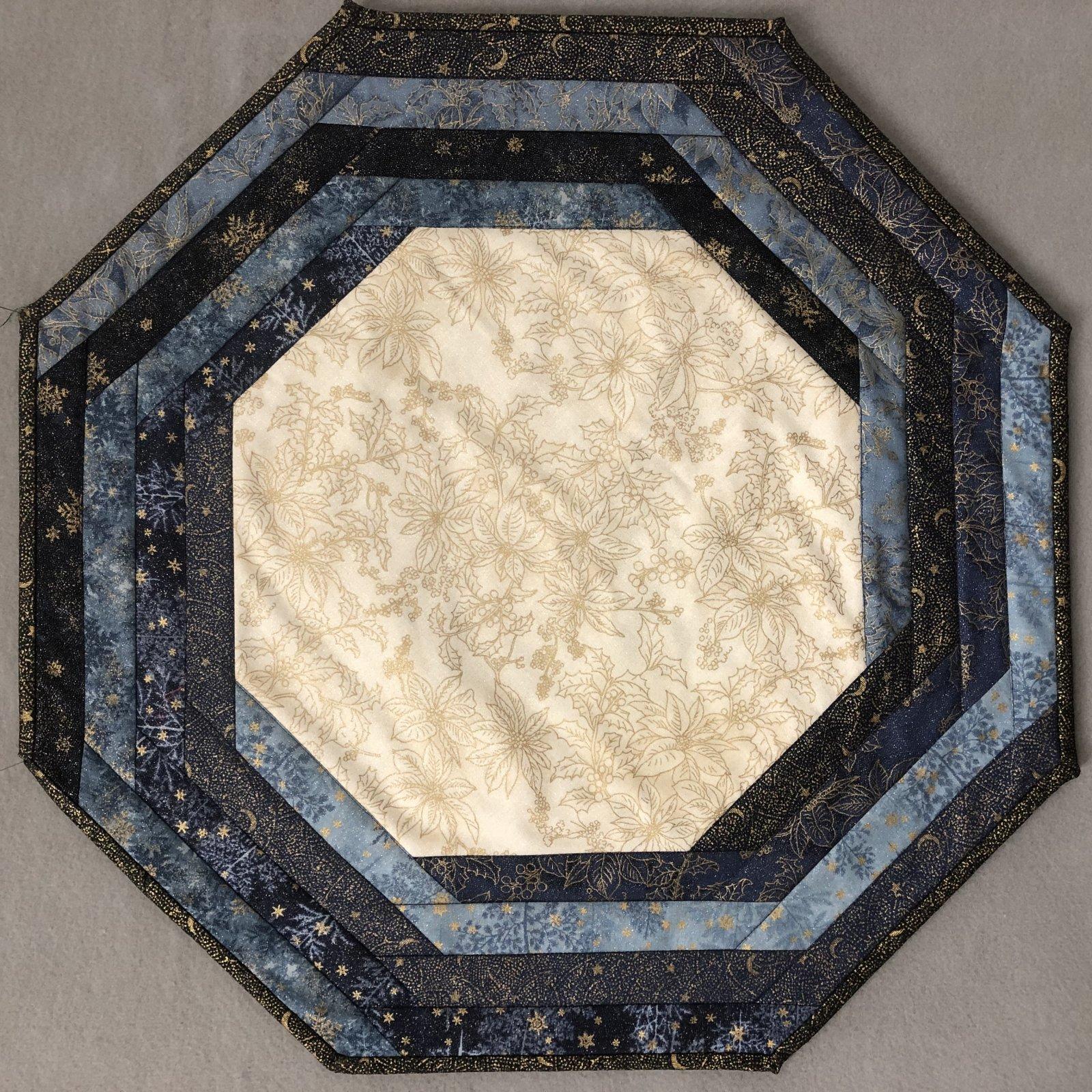 Winter Frost Centerpiece Tablemat Kit