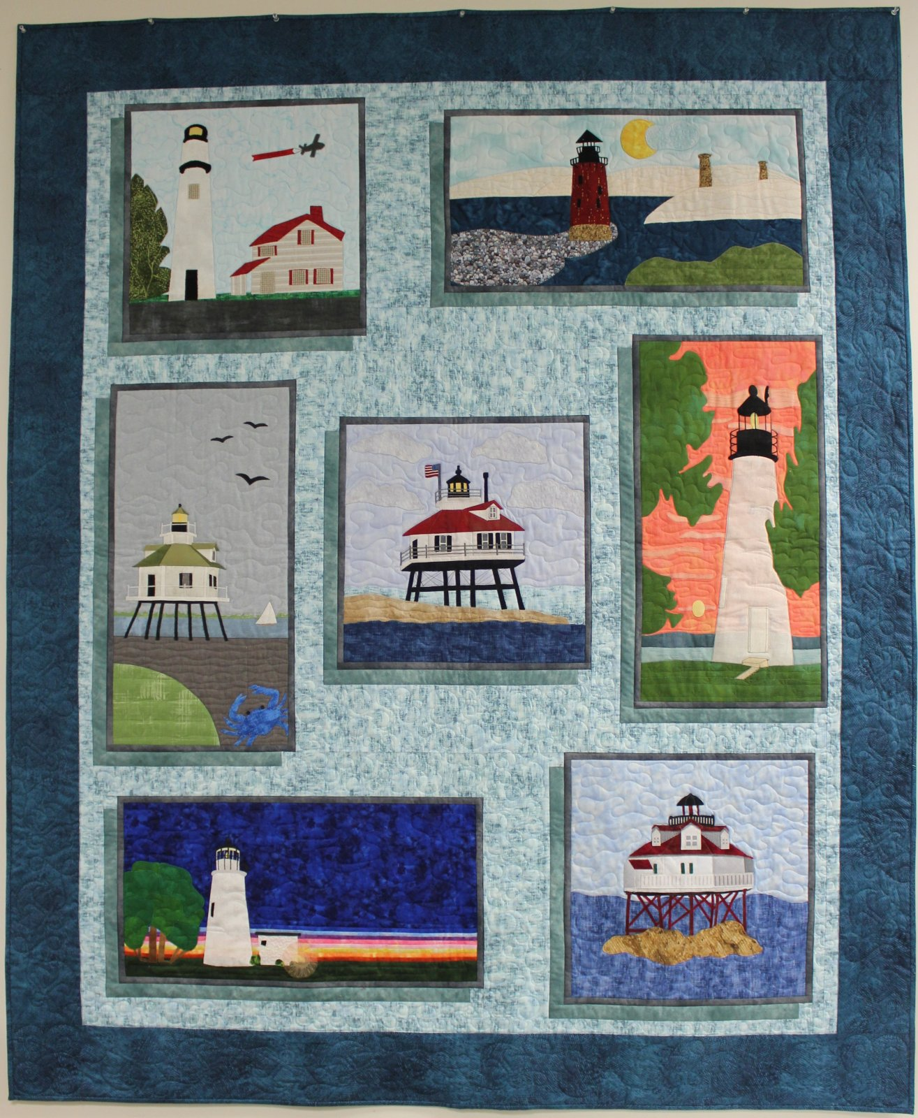 Lights on the Chesapeake SWD Setting Pattern - Quilts Around the Bay 2019