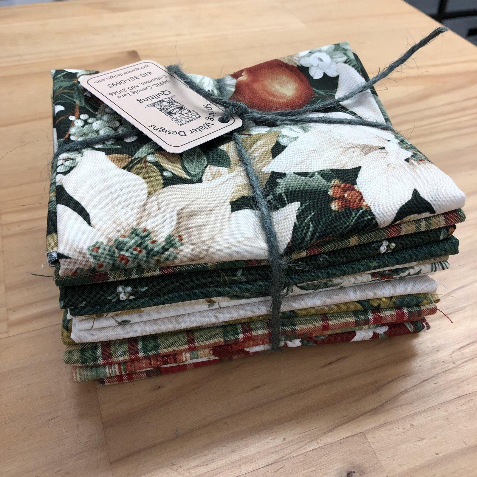 Winter Botanicals by Laura Berringer Fat Quarter Bundle - 13 Fats