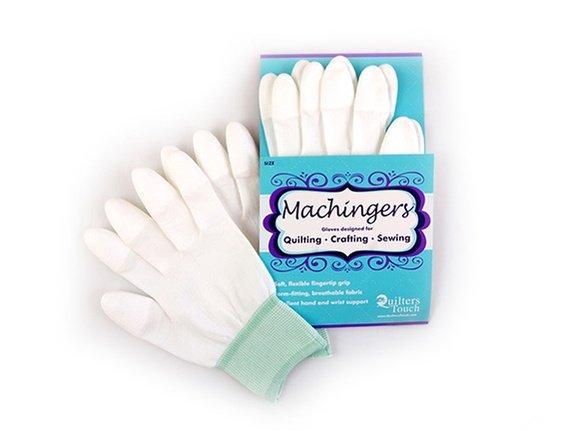 Machingers size M/L Machine Quilting grip gloves