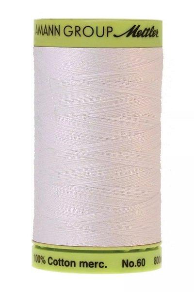 Mettler 60 wt 2000 Silk Finish 875 yds White